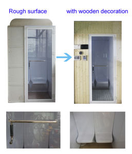2 Person Home Use Outdoor and Indoor Beauty Home Steam Room for Sale pictures & photos