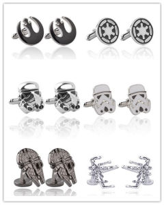 Star Wars Cufflinks Stormtrooper Darth Vader Yoda