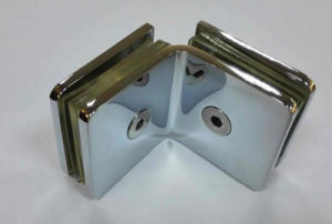 Hot Designs Shower Door Brass Glass Clip (GBF-831S) pictures & photos