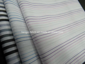 CVC Yarn Dyed Dobby Stripe Fabric for Shirt pictures & photos