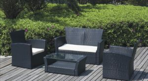 2016 New and High Quality 4PC Patio Furniture Set, Garden Chair pictures & photos
