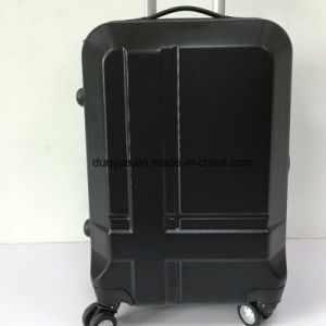 "Factory Low MOQ PC Material 20""24""28"" Universal Wheels Travel Rolling Luggage Bag, Customized OEM Cheap Zipper Trolley Case"