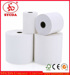 Popular Thermal Paper Wood Pulp Printer Paper Roll pictures & photos