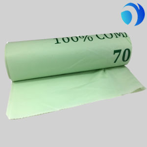 Kitchen Toilet Biodegradable Custom Disposable Trash Garbage Rubbish Roll Bag pictures & photos