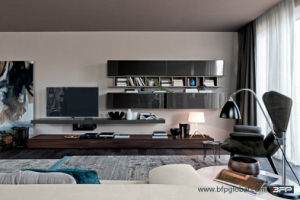 High Gloss Lacquer TV Cabinet pictures & photos
