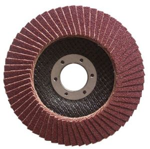 Abrasive Flap Disc Screw Hole pictures & photos