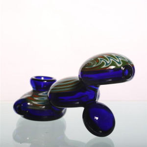 Glass Smoking Pipes Best Spoon Pipes Wathet Blue Color pictures & photos