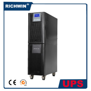 6-10kVA High Frequency Pure Sine Wave Online UPS with Battery pictures & photos