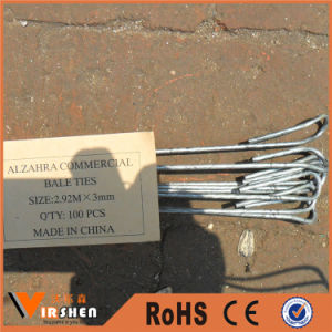 Galvanized Bale Tie Wire for Packages pictures & photos