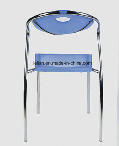 Restaurant Colorful Acrylic Dining Metal Chair (LL-0028) pictures & photos