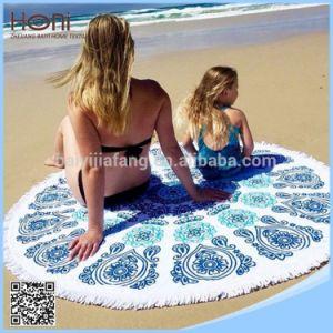 Printed 100% Cotton Round Mandala Beach Blanket Circle Beach Towel