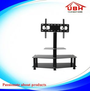 3 Layer Glass Modern Adjustable TV Stand pictures & photos