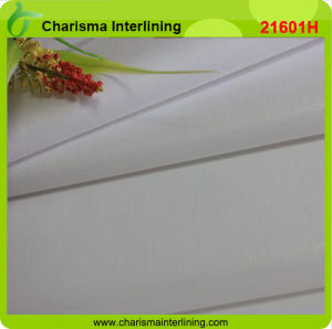 Woven Cotton Top Fused Buckram Interlining for Shirt Collar pictures & photos