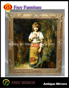 Ornate Antique Design Wooden Mirro/Picture Frame pictures & photos