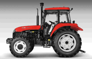 New 100HP Four-Wheel Driving Wheel Tractor with Diesel Engine (OX1004) pictures & photos
