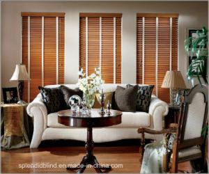 China Golden Oak Wooden Blinds Ladder Tape High Quality BlindsSGD