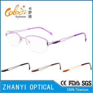 Latest Design Beta Titanium Eyewear for Woman (8322)