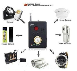 Wireless Cx007 RF Signal Camera Phone GSM GPS WiFi Bug Detector pictures & photos