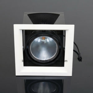 High Quality 12W LED COB Recessed Grille Downlight pictures & photos