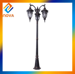 High Quality Round Shape Bronze Finish Classical Street Light pictures & photos