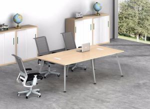 White Customized Metal Steel Office Conference Desk Frame with Ht70c-3 pictures & photos
