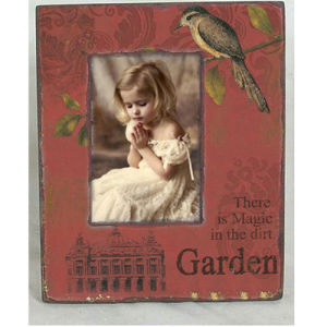 Wood Photo Frame - Garden Style