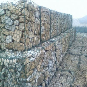 3X1X0.5m PVC Coated&Galvanized Gabion Basket/Gabions pictures & photos