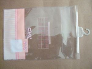 Hook Plastic Sock Packing PVC Bag pictures & photos