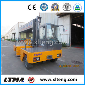 3 Ton Diesel Side Loader Forklift with 4.8m Lifting Height pictures & photos