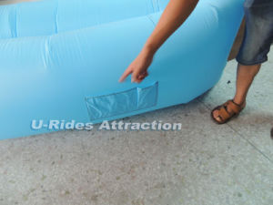 Waterproof Lounger Fast Inflatable Sleeping Bag Air Sofa For Beach Park Camping pictures & photos