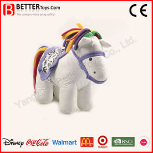 Stuffed Animal Horse Toy for Kids Drawing pictures & photos