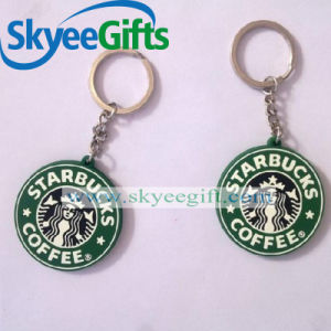 Customized PVC Logo Keychain for Promotional Gift pictures & photos