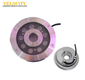 24V Stainless Steel RGB LED Fountain Light with IP68 for Pool pictures & photos