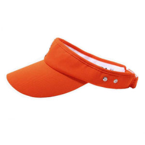 Blank Visor Cap with 2 Eyelets (JRV065) pictures & photos