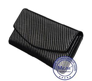 The Fashion Design Carbon Fiber Zipper Wallet and Bags pictures & photos