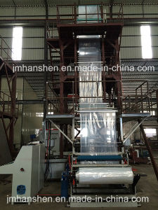 Double Layer Co-Extrusion Stretch Film Machine with Extruder pictures & photos