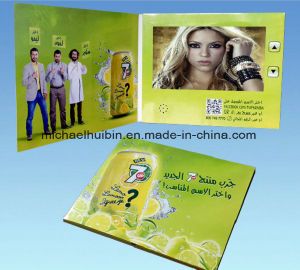 Customized Promotion Gift 10inch LCD Screen Video Greeting Card (VC-100) pictures & photos