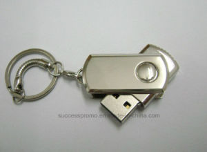 Metal 2GB 4GB 8GB 16GB USB Flash Drive with Keychain pictures & photos