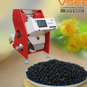 Cleaning Black Beans Color Sorter Easy Operation pictures & photos