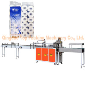 Bathroom Tissues Paper Roll Wrapping Machine pictures & photos