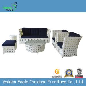 Wide Rattan Outoor Wicker Garden Sofa (GP0014) pictures & photos