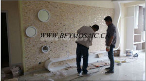 Building Material Natual Stone Marble Mosaic (FYSD070) pictures & photos