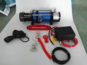 4X4 Recovery Electric Winch with Wireless Remote Kit (12000lbs-3) pictures & photos