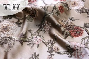 Jacquard Fabric Price Per Meter Ethnic Upholstery Fabric pictures & photos