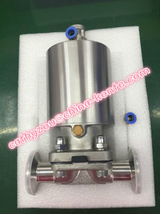 Single Acting Full Stainless Steel Pneumatic Diaphragm Valve pictures & photos