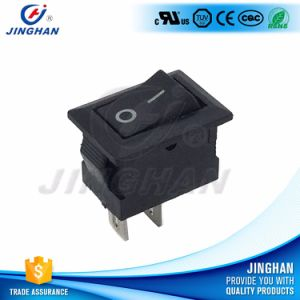 Wholesale on-off White 6A Mini Rocker Switch Rectangular Spst pictures & photos