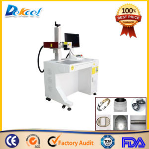 Dekcel 20W Finer Fiber Laser Nonmetal/PVC/ABS/Pes Marking Machine pictures & photos