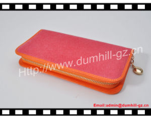Plum Young PU Leather Lady Wallet Supplier pictures & photos
