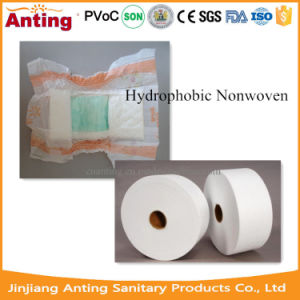 Hydrophobic Nonwoven Raw Material for Baby Diaper pictures & photos