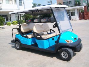 4+2 Seats Prices Electric Golf Car for Golf Course pictures & photos